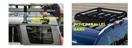 image of fitted roof bars