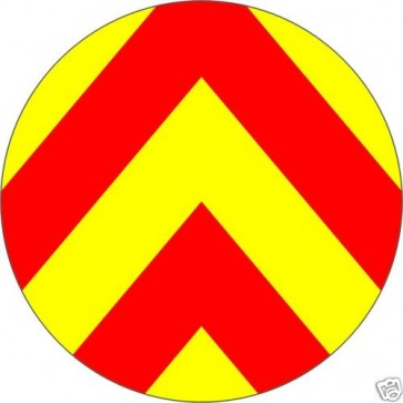 Safety luminous Chevron Sticker