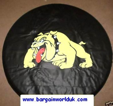 MAD DOG Wheel Cover (yellow) rear spare tyre 4x4 wheelcover