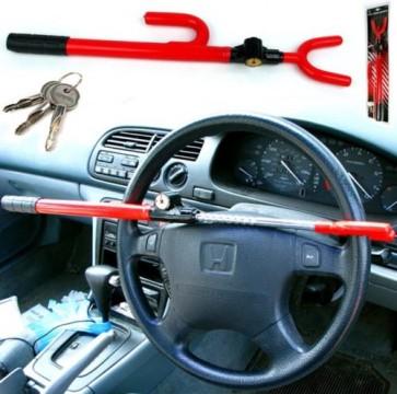 Lock Steering Wheel Car Security Anti Theft Van Universal Heavy Duty AC56