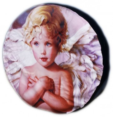 Boy Angel Child Wheel cover rear spare tyre wheelcover to fit all 4x4 and caravans