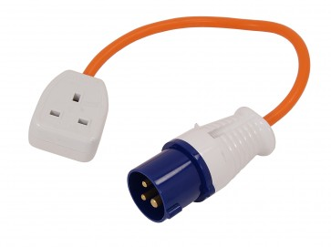 TRAILING SOCKET LEAD 240V UK PLUG EXTENSION MAINS CABLE ELECTRIC CA2
