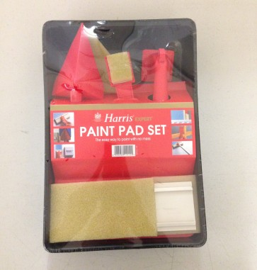 PAINT PAD SET SPONGE TRAY EMULSION PAINTING DECORATING DIY DECORATORS CA26