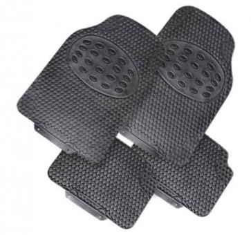 Car Mats universal fit rubber SUPER QUALITY set of 4 Kia renault mini ford Rover