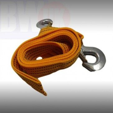 Heavy Duty 3 Ton Car Towing Rope Recovery Break Down Tool Vehicle Tow 3 meter