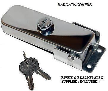 Cylinder Stainless Steel Lock Key barrel set 4 wheel cover wheelcover Spare tyre AC04