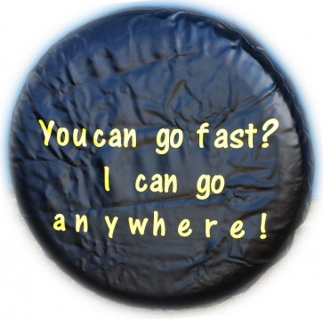 Fast Go Anywhere Wheel cover rear spare tyre wheelcover to fit all 4x4 and caravans