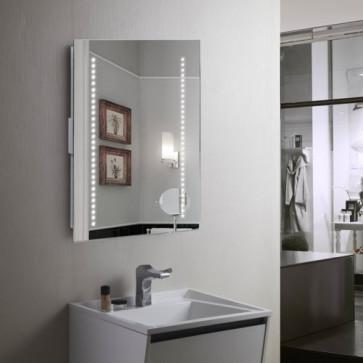 LED LIGHT BATHROOM MIRROR MOTION SENSOR GLASS GALACTIC