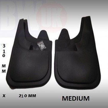 Rubber Mudflaps Mud Flaps splash Guards Pair front Rear MEDIUM 31 CMX22 CM MF-NM