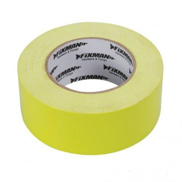 BRAND NEW HEAVY DUTY DUCT TAPE HI-VIS ADHESIVE 50 MM x 50 M TOOLS DIY P106