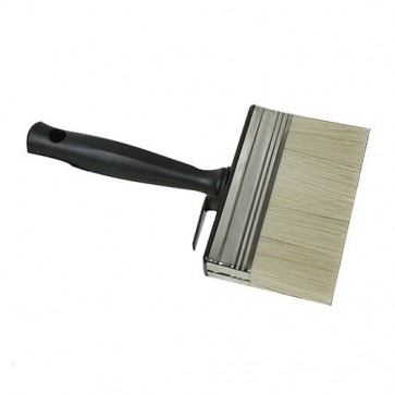 BRAND NEW SHED & FENCE BRUSH PAINTING DECORATING GARDEN 125 MM WIDTH P145