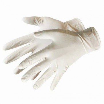 BRAND NEW LATEX GLOVES 100PK DISPOSABLE LARGE SAFETY WORKWEAR NON-STERILE P242