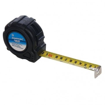 BRAND NEW CHUNKY TAPE MEASURING MEASURE 5 M x 25 MM GARAGE HAND TOOLS P262