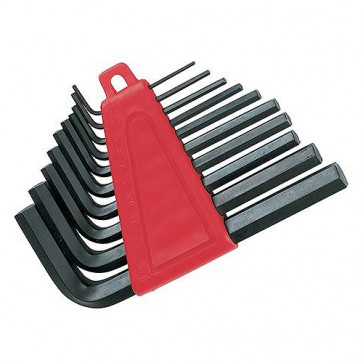 BRAND NEW HEX KEY SET 10PCE ENGINEERING METRIC STORAGE CLIP 2 - 10 MM P62