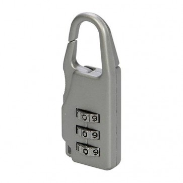 BRAND NEW COMBINATION PADLOCK ZINC ALLOY 3 DIGIT SECURITY P77