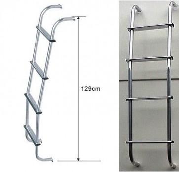 Peugeot Renault Landrover Freelander Isuzu Aluminium chrome van universal Ladder