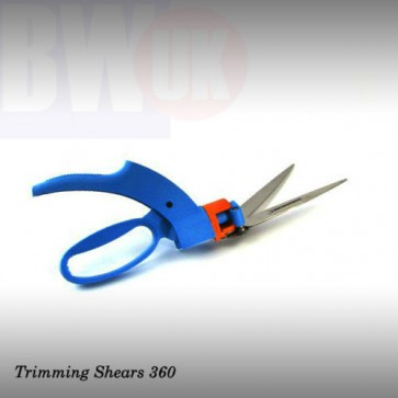 SINGLE HAND TRIMMING PRUNING SHEARS STEEL SWIVEL 360 TWISTING HEAD (S35)