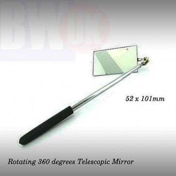 TELESCOPIC ROTATING MIRROR WORKSHOP INSPECTION GARAGE MIRROR MUTLI ANGLE (S37)