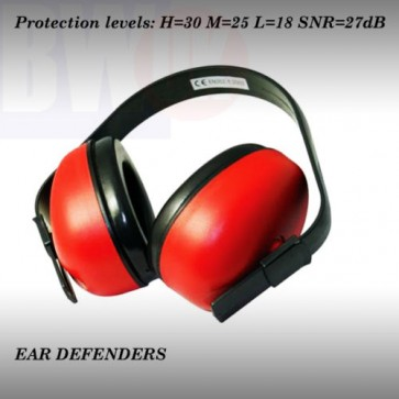 EAR DEFENDERS PLUGS MUFFS NOISE MUFF PROTECTION CONSTRUCTION HEALTH SAFETY (S44)