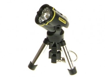 Stanley Mini Tripod Keyring Chain Torch Super Bright LED Mobile Tripod Stand T26