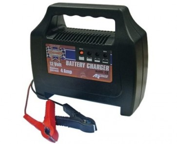 Faithfull compact 4Ah / 48 20-65ah 4 Amp Watt maximum rated Battery Charger T27