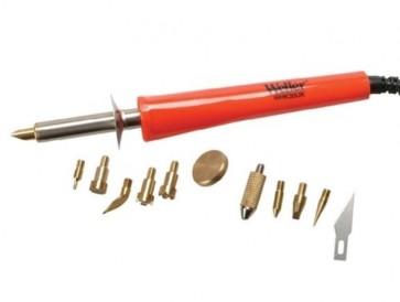 WELLER Professional Woodburning & Hobbyist Kit 240 Volt Top Class 13 Pc T37