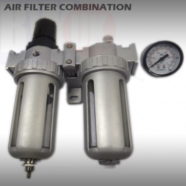 Air Filter Combination Regulator Lubricator Compressor Air Tools Water Trap TY21