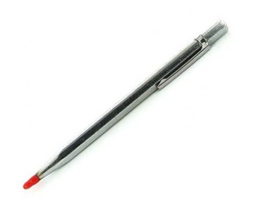 TCT Scriber & Glass Cutter Pen 150mm Tungsten Carbide Tip Marking Scoring U126