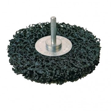 BRAND NEW POLYCARBIDE ABRASIVE DISC 100 MM 6 MM SHANK POWER TOOL ACCESSORY U326