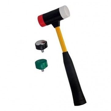 BRAND NEW 4-IN-1 MULTI-HEAD HAMMER 300 MM BUILDING HAND TOOLS FIBREGLASS U340