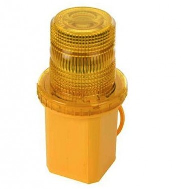 Emergency Truck / Car Yellow Flashing Light Warning Beacon AMBER Siren U41