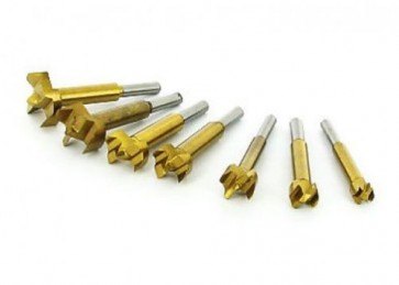 FORSTNER BIT SET 12 - 35 MM PCE PIECE TITANIUM COATED WOOD DRILL BIT U61