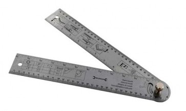 Angle Protractor Rule Engineering 600mm measurement degree angle Measure U79