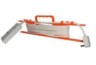 Cable Tidy for Mains extension lead wire cords wall mount and handle new U9