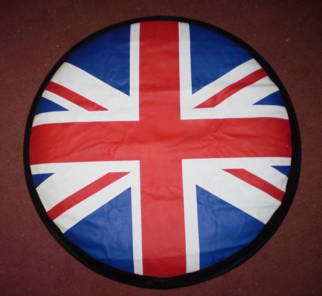 British Flag Rear 4x4 Spare wheel cover   Click Superstore Ltd