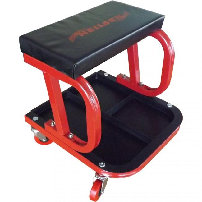 "Amazon.com: Goplus 40"" Foldable Z Creeper Seat Rolling ...  |Auto Mechanic Chairs"