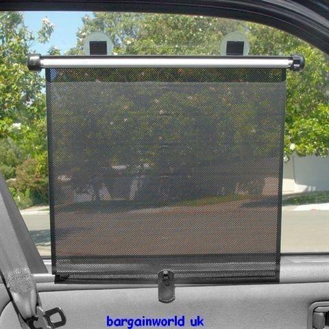 Car Van Sun Shades Roller Blinds Window Glass Privacy Film