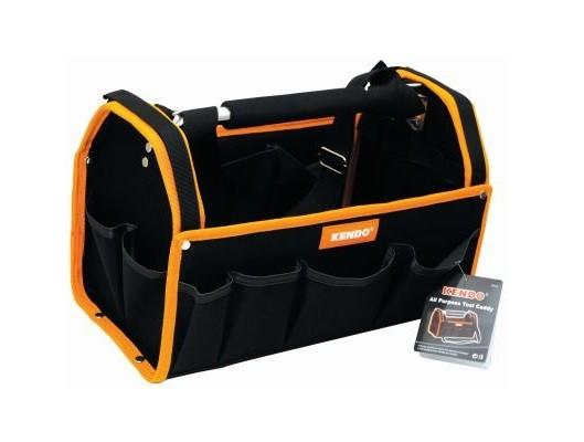 Tool Bag Caddy All Purpose Kendo Sy Aluminium Frame Padded Handle Strap H27