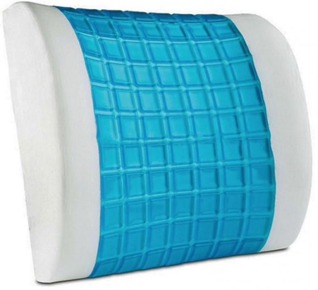 Travel Lumbar Support Pillow In Memory Foam Click