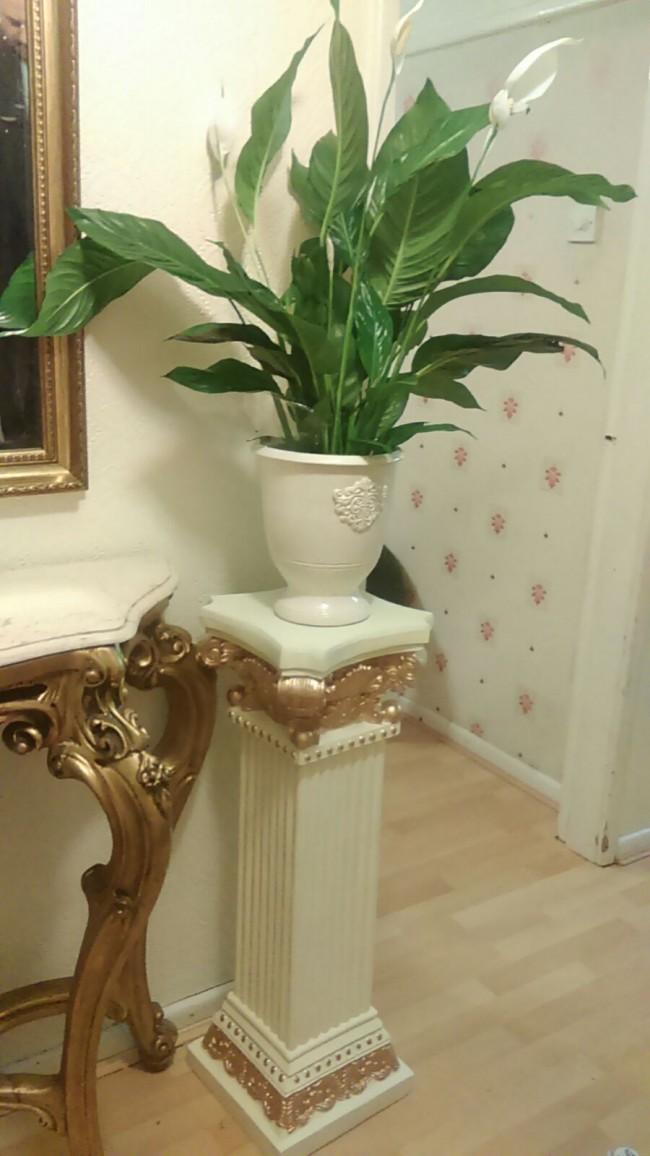 Large Decorative Flower Plant Pot Stand Pedestal Click