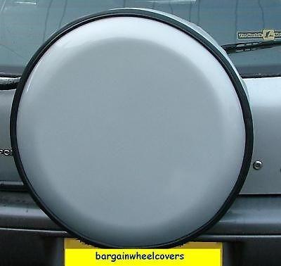 Semi Rigid Hard Plastic Wheel Cover 4x4 Rear Spare Fits