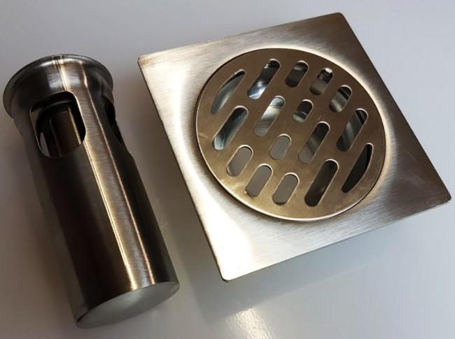 Shower Bathroom Floor Water Drain Waste Trap Click