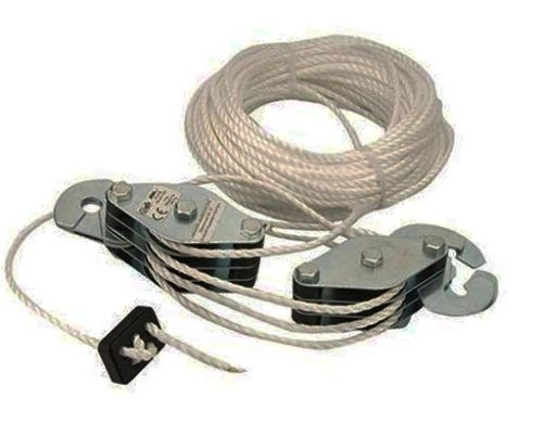 Cable Pulley Set 180 kg Lifting Cord Cargo rope throttle set U115 ...