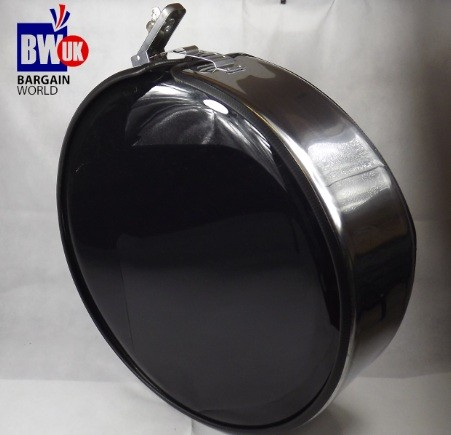 Steel Chrome Metal Ring 4x4 Rear Spare Tyre Wheel Cover