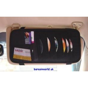CD HOLDER / VISOR / ORGANISER FOR CARS/VANS / CARAVANS