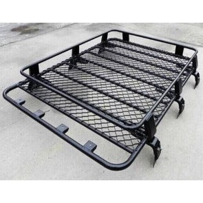 Steel Heavy Duty Large Roof Rack Platform Luggage Carrier Tray 4x4 SUV Minibus Caravan Discovery van fits Toyota Discovery Landrover Fiat Ducati Master 1.8m