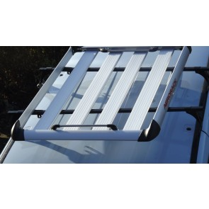 Aluminium Roof Rack Platform SILVER Luggage Carrier Tray 4x4 SUV Minibus Caravan Discovery van