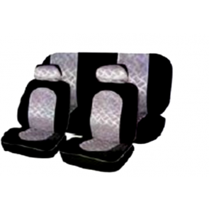 Car Seat covers - Silver Grey /Black