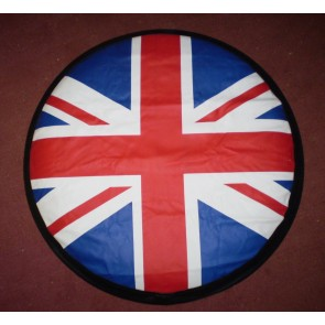 UK British Flag Rear Spare 4x4 wheel cover wheelcover