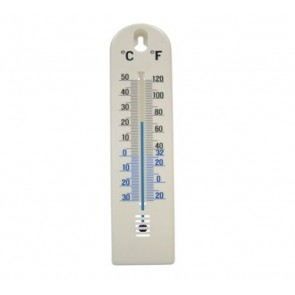 FAITHFULL Thermometer 200mm Wall Home Garden Fridge Celsius Fahrenheit T21